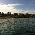 View of Villa Tropical from the Ocean (from a Kayak)