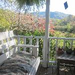 View from front porch. Taken 10/15/11