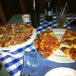 venezolana and rosa pizza