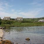 Mossyard Holiday Cottages from the beach