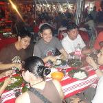 My cousins from Bohol had a great time eating grilled fish, meat and sizzling sisig
