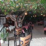 Outside restaurant and bar