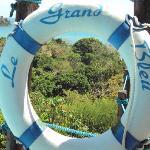 vue d'un transat sur le canal du mozambique
