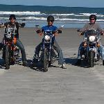 On the beach. Biketoberfest 2011