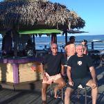The Tiki bar is open and fun