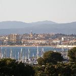 Vue sur le port St-Raphaël - Fréjus