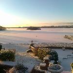 A winter's view at St Kyrans