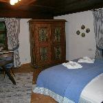 bedroom in the Gerti suite