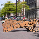 17th century Cannons, Guildhall Sq, Derry