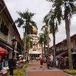 arab street, area around the hostel