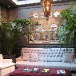 The entrance lounge