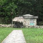 boat ramp to ruins