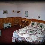 One of our single rooms for 1-2 people.
