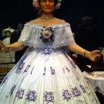 Mary Lincoln wax statue