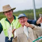 Fishing at Terrace Reserve Holiday Park