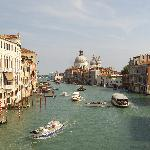 Grand Canal view from Accademia bridge near B&B Dorsoduro 461