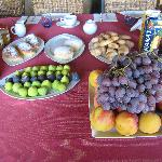 Part of the great breakfast spread