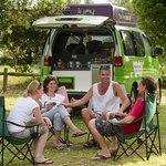 Camping at Red Rock Holiday Park
