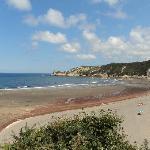 la playa de barayo, reserva natural