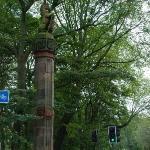 Roadside column in Meadow Park