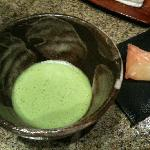 welcome matcha & wagashi (japanese sweet)
