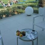 The beautiful veranda of suite # 052