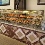 the display of breads