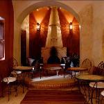 salon cheminée restaurant