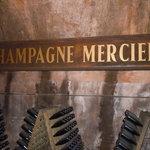 visita alle cave Mercier