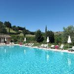 Borgo Al Cerro - view of the pool