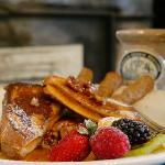 Breakfast - Sweet Potato French Toast with Pecan Honey-Butter