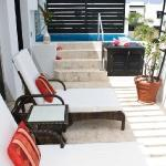 All Penthouses feature balcony with either private Jacuzzi or plundge pool