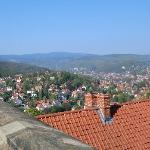 Wernigerode Blick vom Schloss