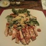 Caesars Salad von der Bar Karte