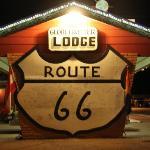 Globetrotter Lodge am Abend