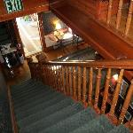 Beautiful woodwork stairs