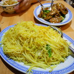 Singapore style fried vermicelli