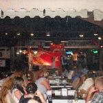 waiters with the Turkish flag on Turkish night