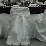 R&S hire chair covers