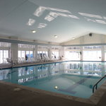 This is our beautiful pool at the Recreation Center.