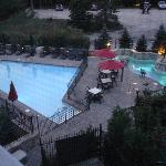 View from room 310 - pool