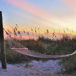Sunset with a Hammock