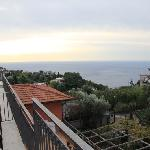 Small room terrace