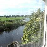 River Tweed & Flood Castle from room