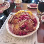 Award winning Cherry Stuffed French Toast