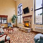 Lobby with Fire place