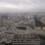 View of Paris from my room