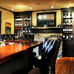 Cozy bar area