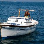 Alessandro, our captain to Capri.
