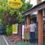 Thushil and Sriya, Angler's Restaurant